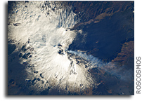 Mount Etna Seen From Orbit