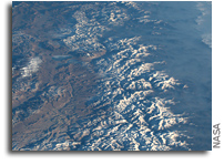 Orbital View: The Himalayas Separating China From India And Nepal