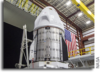Dragon Endeavour Mated To Falcon 9 Launcher