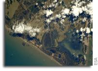 Starbase Boca Chica Seen From Orbit