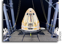SpaceX Cargo Dragon Recovery