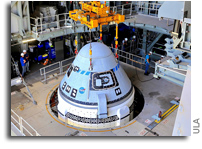 Boeing CST-100 Starliner Integrated With ULA Atlas V