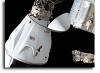Commercial SpaceX Crew Dragon Endeavour Docked And Ready
