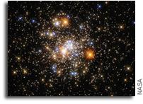 Hubble Captures a Sparkling Cluster
