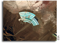 A Shimmering Amphitheatre As Seen From Space