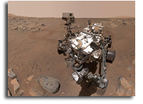 Perseverance Takes A Selfie On Mars