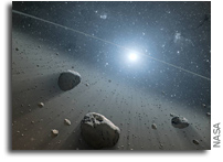 Two Asteroids Discovered To Have Complex Organic Matter