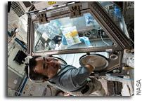 Astronauts Initiate Tardigrade Experiment on ISS