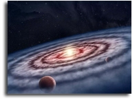 Astronomers' Industrial Espionage In Planet Factory Indicates Start of planet production