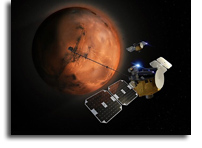 'Blue' And 'Gold' Satellites Headed To Mars In 2024