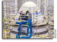 NASA, Boeing Update Launch Target for Next Starliner Flight Test