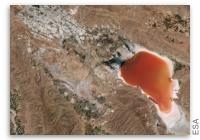 Earth from Space: Maharloo Lake, Iran