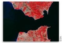 Earth from Space: Strait of Gibraltar