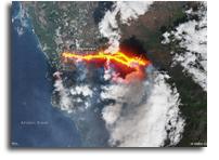 How Satellites Help Monitor La Palma Volcano Eruptions