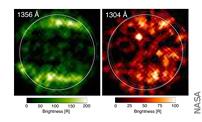Hubble Finds First Evidence of Water Vapor at Jupiter's Moon Ganymede