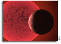 A New Super-Earth Detected Orbiting A Red Dwarf Star