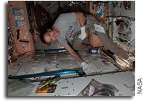 Microbial Tracking-3 Experiment Sample Collection On The ISS