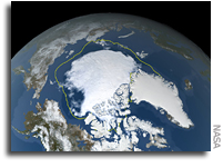 NASA Finds 2021 Arctic Summer Sea Ice 12th-Lowest on Record