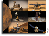 NASA's Mars Fleet Lays Low As Sun Moves Between Earth and Red Planet