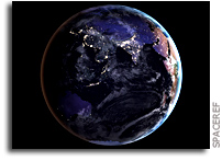 系外行星上夜晚城市灯光的可探测性