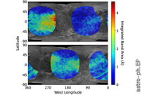 The Geographic Distribution Of Dense-phase O2 On Ganymede