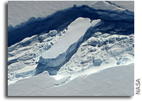 An Additional Threat To Antarctica's Floating Ice Shelves