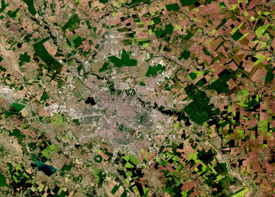 Earth from Space: Bucharest, Romania