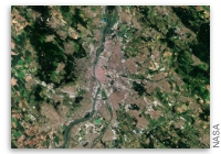 Earth from Space - Budapest, Hungary