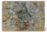 Earth from Space - New Delhi, India