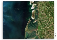 Earth from Space: North Frisian Islands