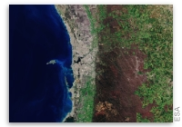 Earth from Space - Perth, Australia