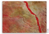 Earth from Space: Tana River, Kenya