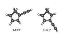 Discovery Of Two Isomers Of Ethynyl Cyclopentadiene In TMC-1: Abundances of CCH And CN Derivatives Of Hydrocarbon Cycles