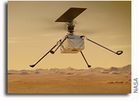 This Week at NASA: Preparing for the First Flight on Mars