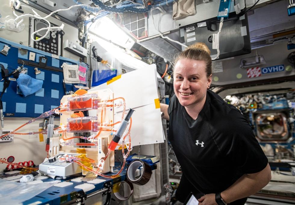 NASA Space Station On-Orbit Status 12 April, 2021 - 10 Crew Members at Work