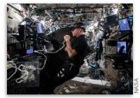 NASA Space Station On-Orbit Status 16 September, 2021 - 3D Virtual Reality Spacewalk Filming