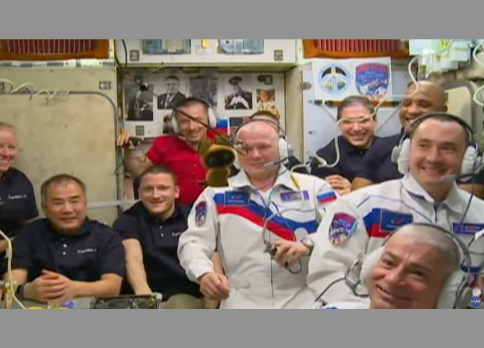NASA Weekly ISS Space to Ground Report for 9 April, 2021