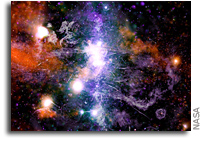 Magnetized Threads Weave Spectacular Galactic Tapestry