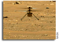 Ingenuity Makes Its Second Flight Over Mars