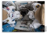 NASA Space Station On-Orbit Status 24 February, 2021 - Spacewalk Preperations