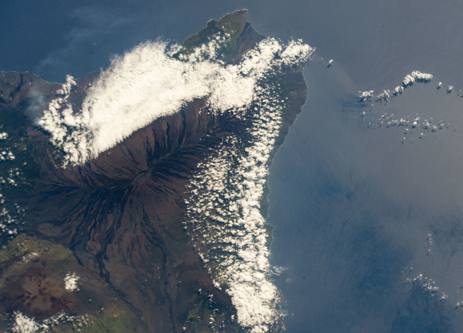 Mauna Loa Seen From Space