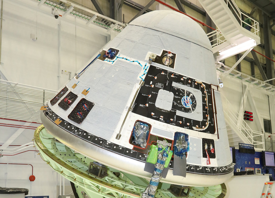 Weighing And Checking The Balance Of Boeing's Starliner
