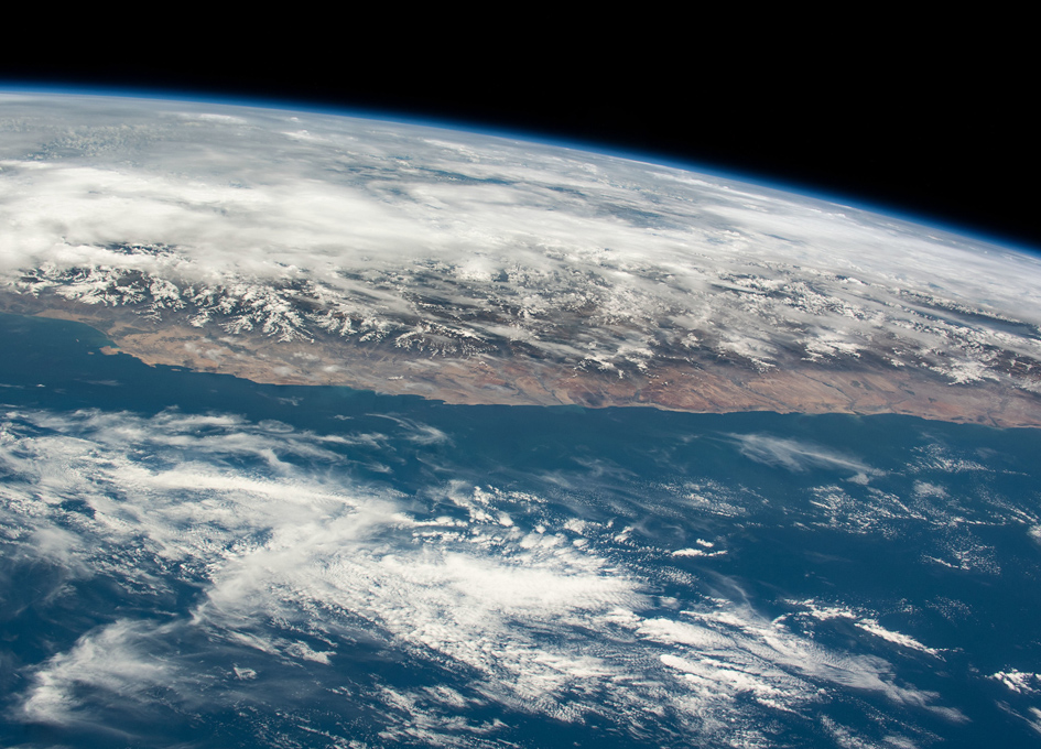 The Coast Of Peru Seen From Space