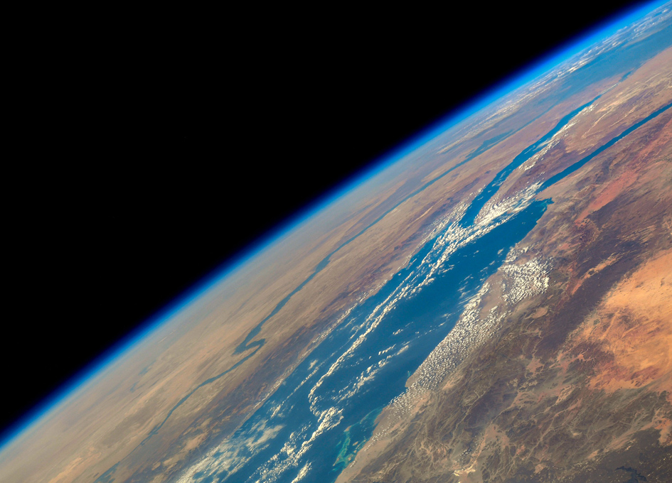 An Orbital View Of The Red Sea
