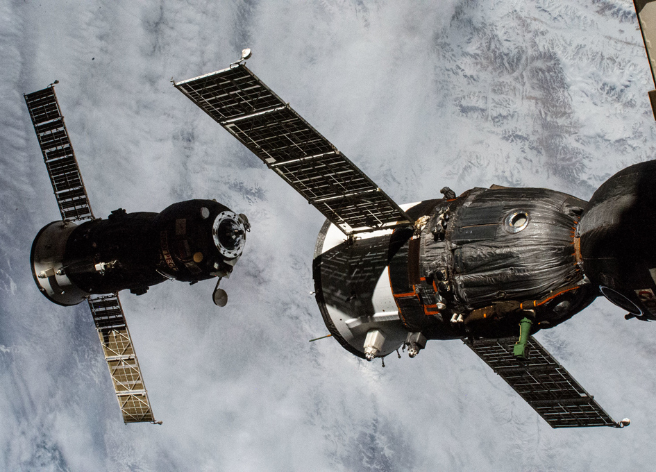 A Cargo Droid Has Departed From The ISS