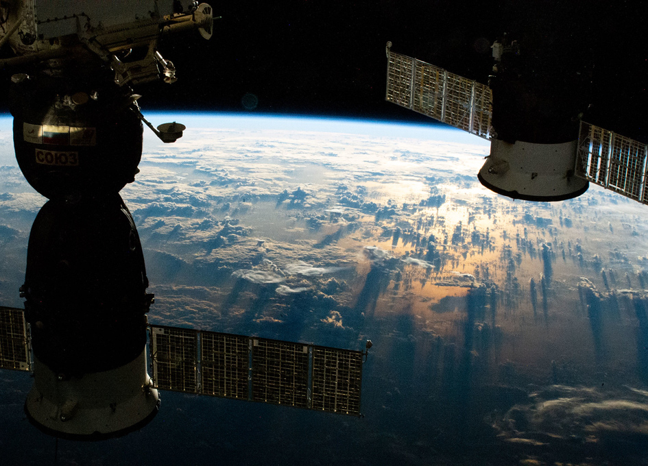 An Orbital Sunrise Above The South Pacific