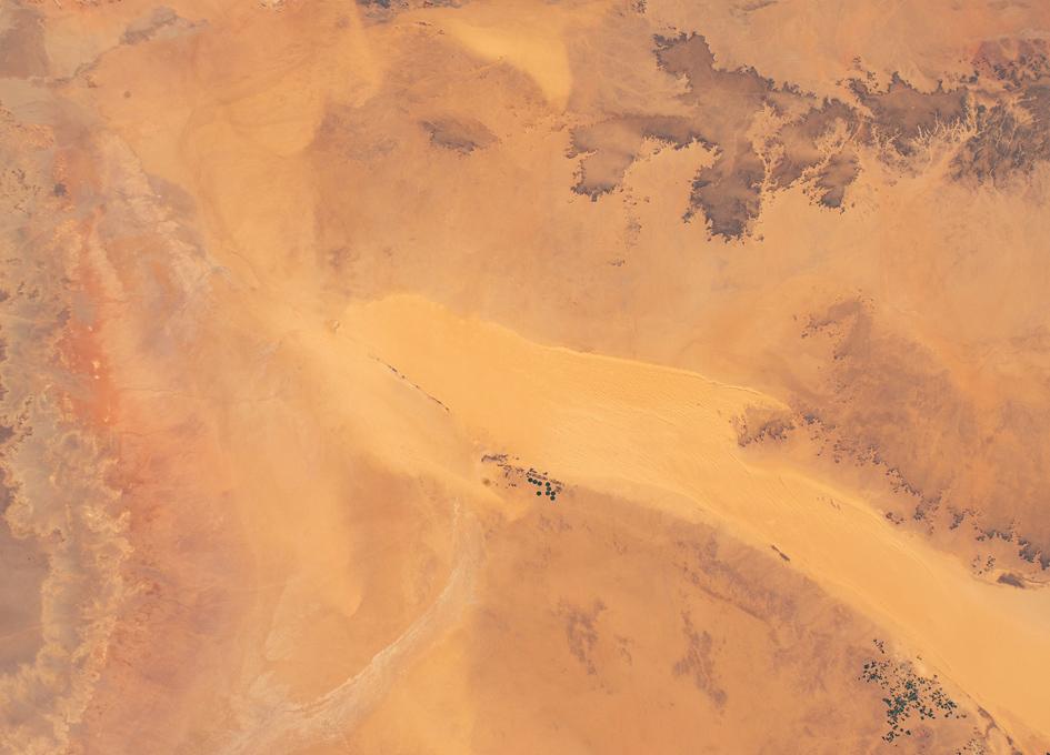 Orbital View Of The Sahara Desert In Central Libya