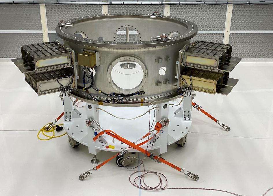 Cubesat Deployment Hardware For Landsat 9 Launch