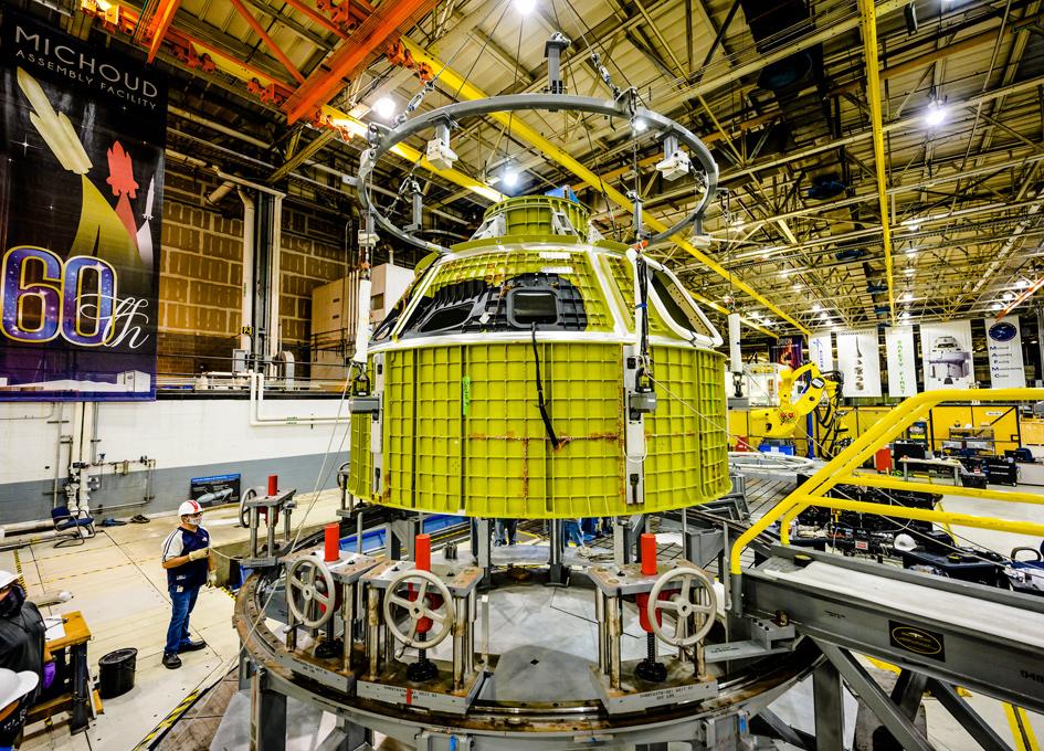 NASA's Orion Spacecraft Completes Milestone for Artemis III Crew Module