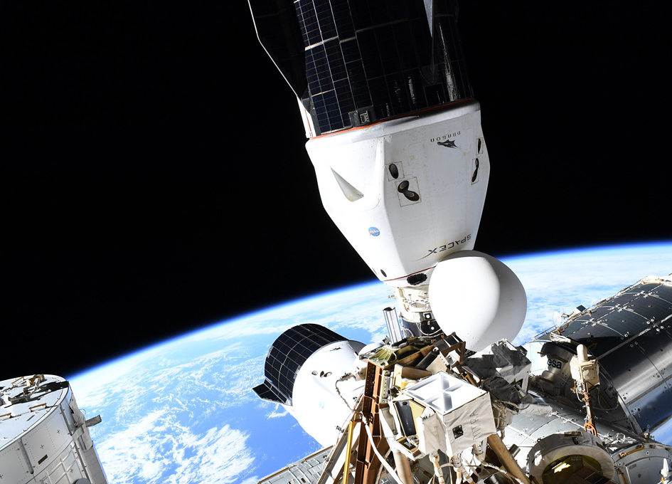 Two SpaceX Dragons Docked At The ISS